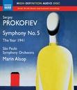 プロコフィエフ: 交響組曲「1941年」/交響曲第5番/サンパウロ交響楽団/マリン・オールソップ(指揮)