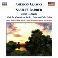 バーバー: 管弦楽作品集 第3集 - ヴァイオリン協奏曲/弦楽セレナード/スーヴェニール