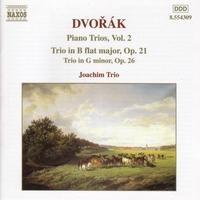 ドヴォルザーク: ピアノ三重奏曲第1番 Op.21/第2番 Op.26