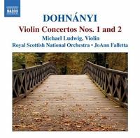ドホナーニ: ヴァイオリン協奏曲集