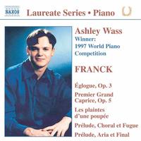 期待の新進演奏家リサイタル・シリーズ - アシュレー・ウェイス(ピアノ) フランク: ピアノ作品集