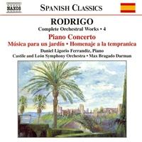 ロドリーゴ: 管弦楽作品全集 第4集  ピアノ協奏曲/ジャグラーたち/他