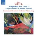 ワイル: 交響曲第1番, 第2番/シンフォニック・ノクターン「闇の女」/ボーンマス交響楽団/マリン・オールソップ(指揮)