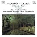 ヴォーン・ウィリアムズ: 交響曲第4番/ノーフォーク狂詩曲第1番/組曲「野の花」/ポール・シルバーソーン(ヴィオラ)/スチュアート・グリーン(ヴィオラ)/ボーンマス交響合唱団/ボーンマス交響楽団/ポール・ダニエル(指揮)