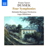 F.X.ドゥシェク: 4つのシンフォニア集