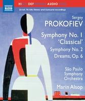 プロコフィエフ: 交響曲第1番「古典」/第2番/交響的絵画「夢」