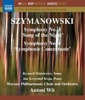 シマノフスキ: 交響曲第3番/第4番