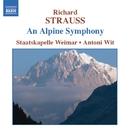 R. シュトラウス: アルプス交響曲/アントニ・ヴィト(指揮)/ワイマール・シュターツカペレ