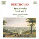ベートーヴェン: 交響曲第2番/第5番「運命」/ベーラ・ドラホシュ(指揮)/ニコラウス・エステルハージ・シンフォニア