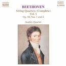 ベートーヴェン: 弦楽四重奏曲 Op. 18/No. 1, 2/コダーイ・クァルテット