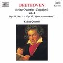 ベートーヴェン: 弦楽四重奏曲 Op. 59 No. 1「ラズモフスキー第1番」/Op. 95「セリオーソ」/コダーイ・クァルテット