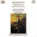 ベートーヴェン: ヴァイオリン協奏曲/ロマンス第1番/第2番/ケネス・ジーン(指揮)/スロヴァキア・フィルハーモニー管弦楽団/西崎崇子(ヴァイオリン)