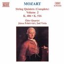 モーツァルト: 弦楽五重奏曲全集 第2集 - 第2番/第4番/ヤーノシュ・フェヘールヴァーリ(ヴィオラ)/エデル四重奏団