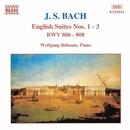 J.S. バッハ: イギリス組曲第1番 - 第3番 BWV 806-808/ヴォルフガンク・リュプザム(ピアノ)