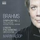 ブラームス: 交響曲第1番/悲劇的序曲/大学祝典序曲/マリン・オールソップ(指揮)/ロンドン・フィルハーモニー管弦楽団