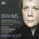 ブラームス: 交響曲第3番/ハイドンの主題による変奏曲/マリン・オールソップ(指揮)/ロンドン・フィルハーモニー管弦楽団