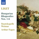 リスト: ハンガリー狂詩曲集 S359/R441/アルトゥール・ファーゲン(指揮)/ワイマール・シュターツカペレ