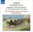 リスト: 交響詩集 第4集 - ハンガリー/英雄の嘆き/3つの葬送的頌歌/ミヒャエル・ハラース(指揮)/ニュージーランド交響楽団
