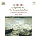 シベリウス: 交響曲第2番/劇音楽「テンペスト」第1組曲/ペトリ・サカリ(指揮)/アイスランド交響楽団