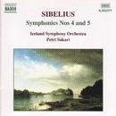シベリウス: 交響曲第4番/第5番/ペトリ・サカリ(指揮)/アイスランド交響楽団