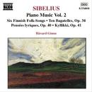 シベリウス: ピアノ作品全集 第2集/ホーヴァル・ギムセ(ピアノ)