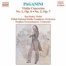 パガニーニ: ヴァイオリン協奏曲第1番/第2番/イリヤ・カーラー(ヴァイオリン)/スティーヴン・ガンゼンハウザー(指揮)/ポーランド国立放送交響楽団