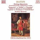 ハイドン: 弦楽四重奏曲 Op. 62「皇帝」/第61番「五度」/第63番「日の出」/コダーイ・クァルテット