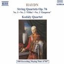ハイドン: 弦楽四重奏曲 Op. 76 No. 1 - No. 3/コダーイ・クァルテット
