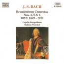 J.S. バッハ: ブランデンブルグ協奏曲 第4, 5, 6番/ボフダン・ヴァルハル(指揮)/カペラ・イストロポリターナ