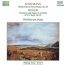 シューマン: フモレスケ, レーガー: J.S. バッハの主題による変奏曲とフーガ/ヴォルフ・ハーデン(ピアノ)