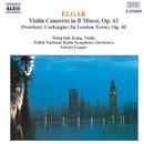 エルガー: ヴァイオリン協奏曲, 序曲「コケイン」/エイドリアン・リーパー(指揮)/ドン=スク・カン(ヴァイオリン)/ポーランド国立放送交響楽団