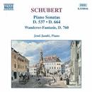 シューベルト: ピアノ・ソナタ第4番, 第13番, 「さすらい人幻想曲」/イェネ・ヤンドー(ピアノ)