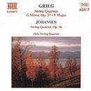 グリーグ: 弦楽四重奏曲第1番, 第2番, ヨハンセン: 弦楽四重奏曲 Op. 35/オスロ四重奏団