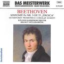 ベートーヴェン: 交響曲第3番「英雄」, 序曲「プロメテウスの創造物」, 序曲「コリオラン」, 序曲「エグモント」/ヘルムート・ミュラー=ブリュール(指揮)/ケルン室内管弦楽団