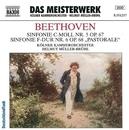 ベートーヴェン: 交響曲第5番「運命」, 第6番「田園」/ヘルムート・ミュラー=ブリュール(指揮)/ケルン室内管弦楽団