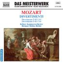 モーツァルト: ディヴェルティメント第11番, 第17番/ヘルムート・ミュラー=ブリュール(指揮)/ケルン室内管弦楽団