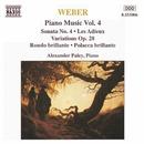 ウェーバー: ピアノソナタ第4番, 告別, 華麗なロンド「ざれごと」 他/アレクサンドル・パレイ(ピアノ)