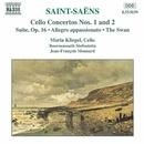 サン=サーンス: チェロ協奏曲第1, 2番, 組曲 Op. 16/ジャン=フランソワ・モナール(指揮)/マリア・クリーゲル(チェロ)/ボーンマス・シンフォニエッタ