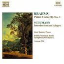 ブラームス: ピアノ協奏曲第1番, シューマン: 序奏とアレグロ Op. 134/アントニ・ヴィト(指揮)/イェネ・ヤンドー(ピアノ)/ポーランド国立放送交響楽団