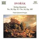 ドヴォルザーク: 弦楽四重奏曲第10番 Op. 51, 第14番 Op. 105/プラハ・ヴラフ弦楽四重奏団