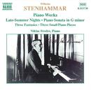 ステンハンマル: ピアノ作品集/ニクラス・シーヴェレフ(ピアノ)
