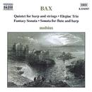 バックス: 室内楽曲集「ハープ五重奏曲」, 「悲歌的三重奏曲」, 「幻想ソナタ」 他/モビウス