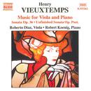 ヴュータン: ヴィオラとピアノのための作品集/ローベルト・ケーニヒ(ピアノ)/ロベルト・ディアス(ヴィオラ)