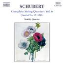 シューベルト: 弦楽四重奏曲第15番, 5つのドイツ舞曲 D. 90/コダーイ・クァルテット