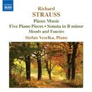 R. シュトラウス: ピアノ曲集/ステファン・ヴェセルカ(ピアノ)