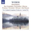 ウェーバー: 序曲集/アントニ・ヴィト(指揮)/ニュージーランド交響楽団