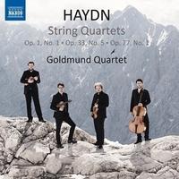 ハイドン:弦楽四重奏曲第1番, 第29番, 第66番