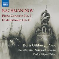ラフマニノフ:ピアノ協奏曲第2番/練習曲集「音の絵」 Op. 33 (ギルトブルグ/ロイヤル・スコティッシュ・ナショナル管/プリエト)