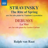 ドビュッシー: 海/ストラヴィンスキー: 春の祭典(ピアノ独奏版)