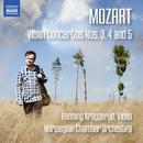 モーツァルト: ヴァオリン協奏曲 第3番/第4番/第5番/ヘンニング・クラッゲルード(ヴァイオリン)/ノルウェー室内管弦楽団